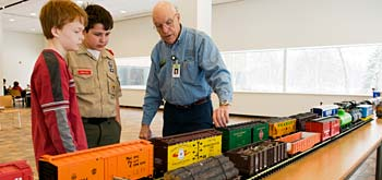 PHOTO: Railroading Merit Badge Workshop