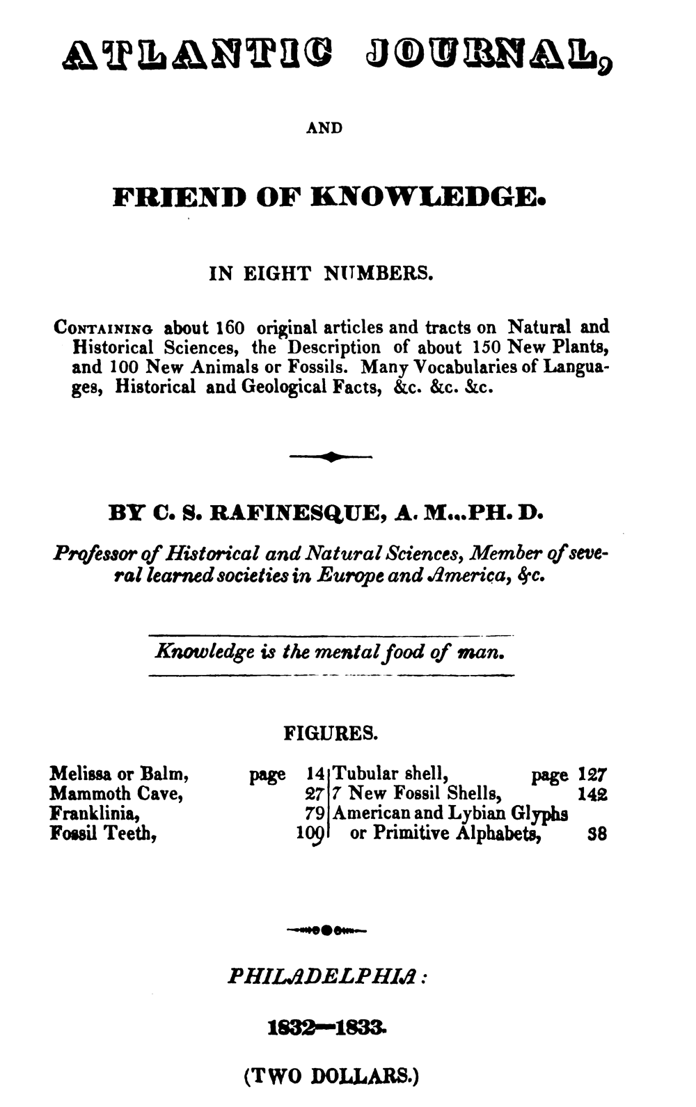 PHOTO: Title Page.