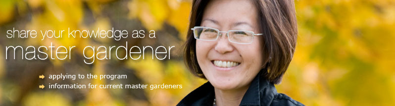 Begin a career as a master gardener
