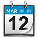 ILLUSTRATION: Calendar icon.