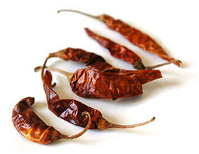 Kashmiri chili peppers