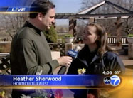 Click here to view Heather Sherwood's spring gardening tips.
