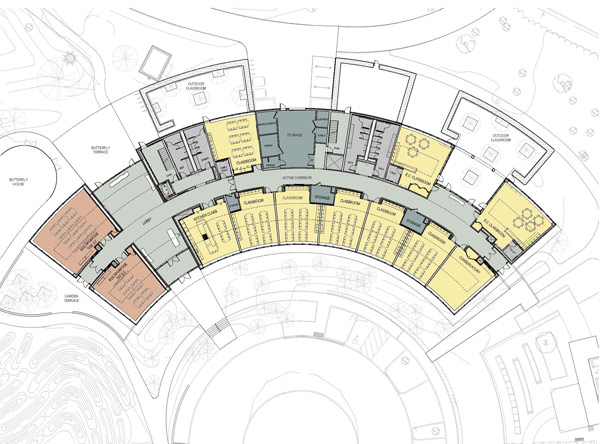 Education Center Floor Plan