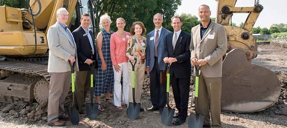 Groundbreaking for Kris Jarantoski Campus