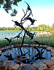 SCULPTURE: Canada Geese