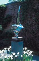 SCULPTURE: Composition in Stainless Steel #1