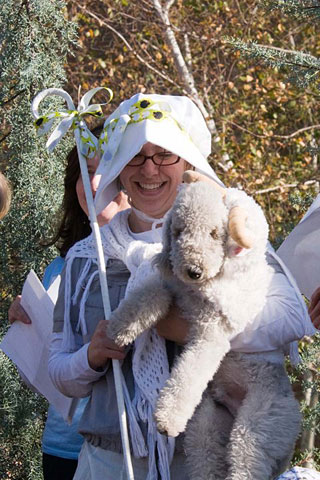 PHOTO: Little Bo Peep and her sheep