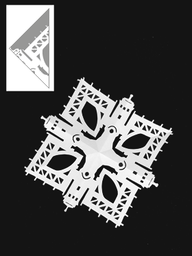 Click here to download this snowflake pattern.