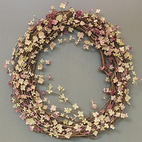 Wreath by Ayse Pogue.