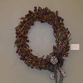 Wreath by Tom Soulsby.