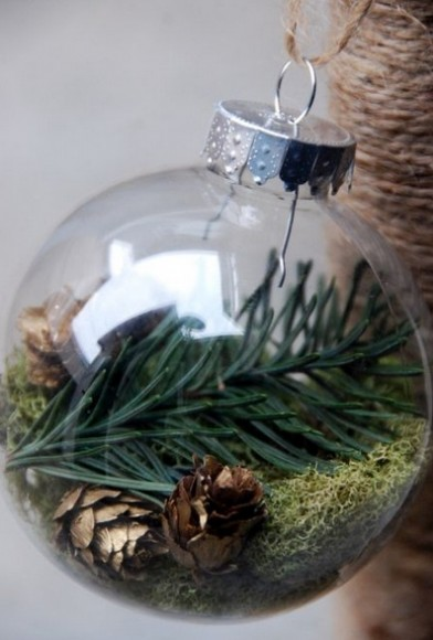Holiday Greens Ornament