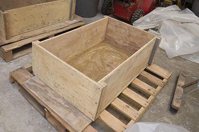 how to make a hypertufa trough step by step