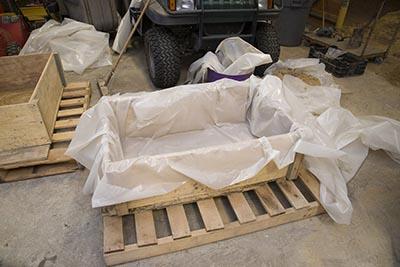 how to make a hypertufa trough