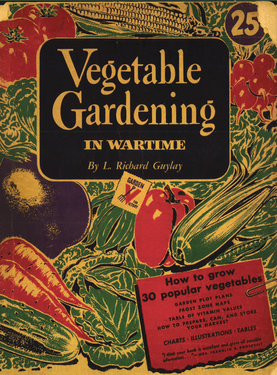 Vegetable Gardening in Wartime