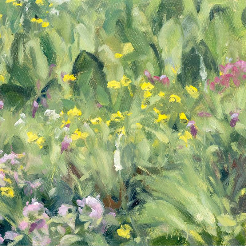 Paintings of Prairie Environments By Philip Juras - Gensburg Markham Prairie
