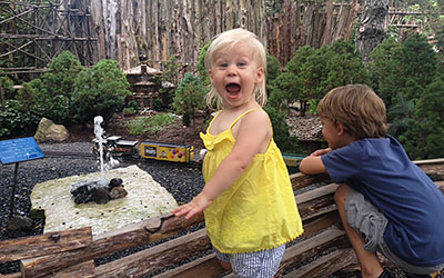 Play at the Model Railroad Garden