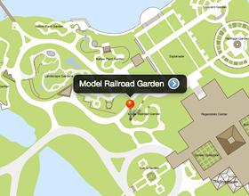 Model Railroad Garden | Chicago Botanic Garden