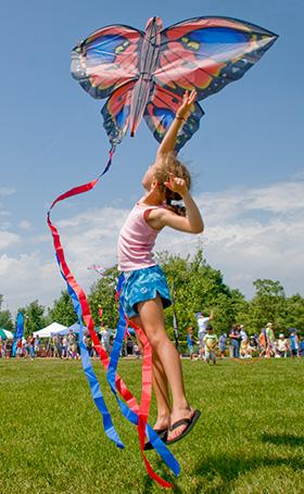 kite festival chicago botanic garden