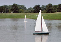 Model Sailboat Sunday