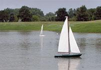 Model Sailboat Sunday