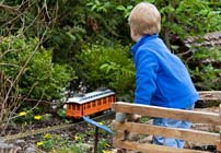 PHOTO: Model Railroad Garden