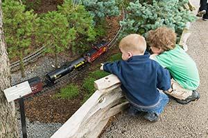 Model Railroad Garden opens