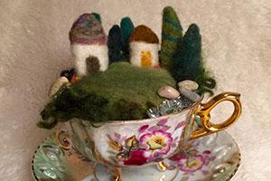 Fairy Garden Tea Cup workshop