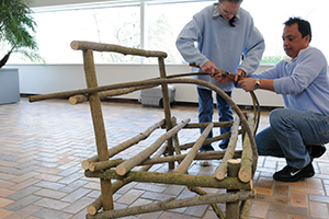 Willow Furniture Workshop: Bent Willow Chair