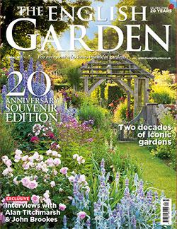 Magazine cover: The English Garden