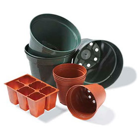 PHOTO: plastic pot recycling