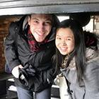 Carillonneurs Michael Solotke and Tiffany Lin