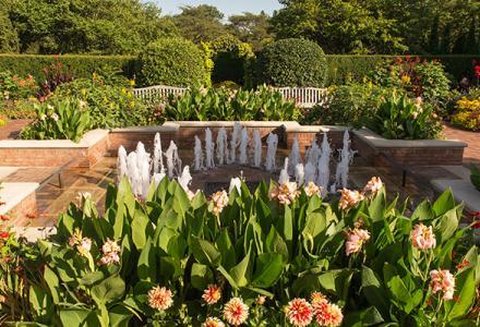 Circle Garden in summer