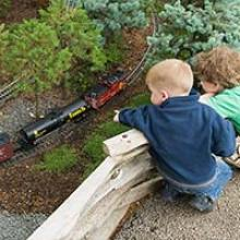 Model Railroad Garden opens