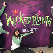 Wicked Plants exhibit