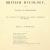 PHOTO: Bookplate from Illustrations of British mycology