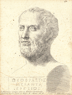ILLUSTRATION: Theophrastus